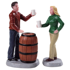 Lemax 92769 Cheers!, Set of 2, Figurine- Gift Spice