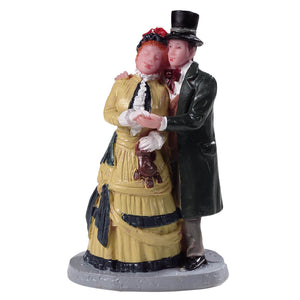 Lemax 92772 Dickens Couple, Figurine- Gift Spice