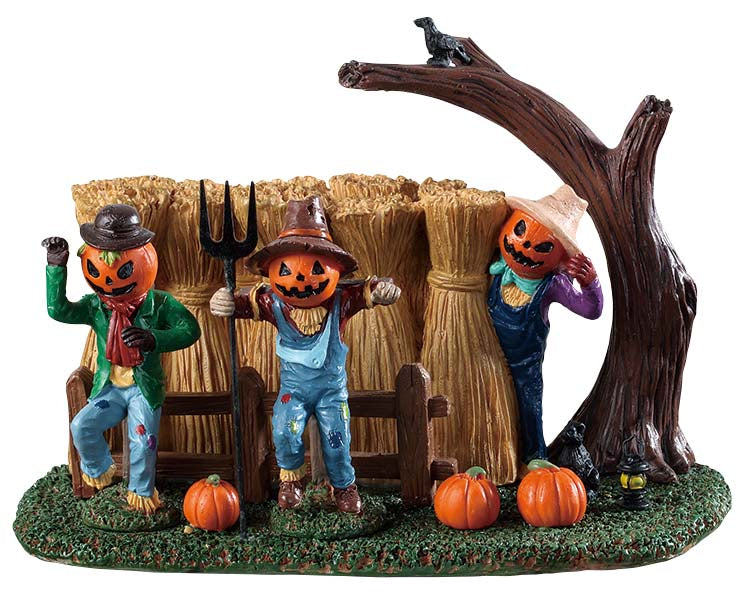 Lemax 93417 Sinister Scarecrows, Table Piece- Gift Spice