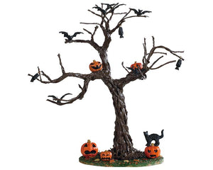 Lemax 93418 Batty For Pumpkins Tree, Table Piece- Gift Spice