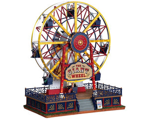 Lemax 94482 The Giant Wheel, Sights and Sound piece- Gift Spice