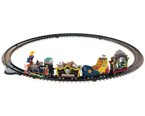 Lemax 94486 Crazy Clown Express, Sights and Sound piece- Gift Spice