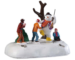 Lemax 94529 Frosty Frolic, Table Piece- Gift Spice