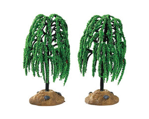 Lemax 94548 Spring Willow Tree, Set of 2, Accessory- Gift Spice