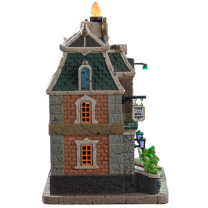 Lemax 95441 Haunted Library, Standard Lighted Building- Gift Spice