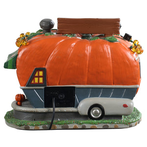 Lemax 95444 Pick Me Pumpkin Wagon, Standard Lighted Building- Gift Spice