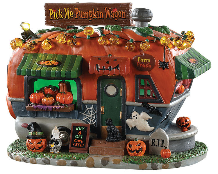 Lemax 95444 Pick Me Pumpkin Wagon