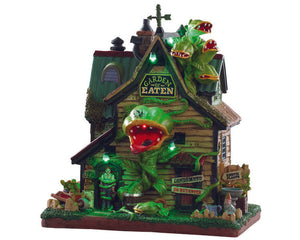 Lemax 95445 Garden of Eaten Nursery, Exterior Lighted House- Gift Spice