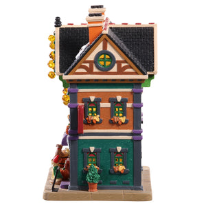 Lemax 95459 Best Buds Dog Supply Store, Standard Lighted Building- Gift Spice