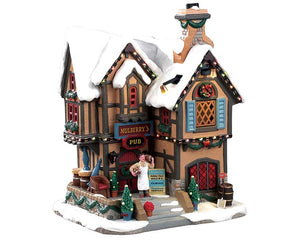 Lemax 95469 Mulberry's Pub, Standard Lighted Building- Gift Spice