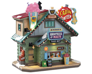 Lemax 95470 Cabin Canteen, Standard Lighted Building- Gift Spice