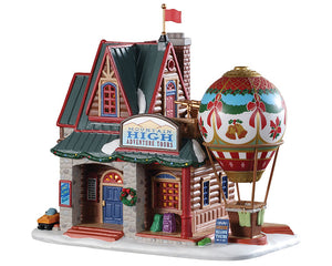 Lemax 95479 Mountain High Adventure Tours, Standard Lighted Building- Gift Spice