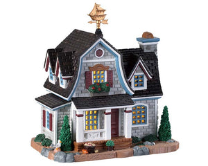 Lemax 95482 Seawind Cottage, Standard Lighted Building- Gift Spice