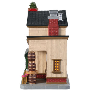 Lemax 95485 The Hop Stop, Standard Lighted Building- Gift Spice
