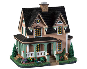 Lemax 95486 Country Lane Cottage, Standard Lighted Building- Gift Spice