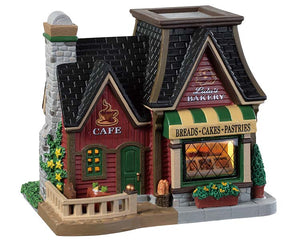 Lemax 95488 Lulu's Bakery Cafe, Standard Lighted Building- Gift Spice