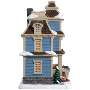 Lemax 95500 Lawson Residence, Standard Lighted Building- Gift Spice