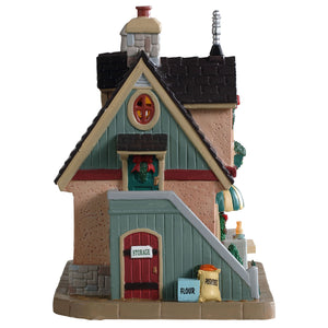 Lemax 95513 Kathy's Quaint Kitchen, Standard Lighted Building- Gift Spice