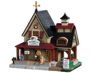 Lemax 95515 Russell's Garden Accessories, Standard Lighted Building- Gift Spice