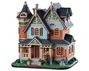 Lemax 95527 Hayes Residence, Standard Lighted Building- Gift Spice