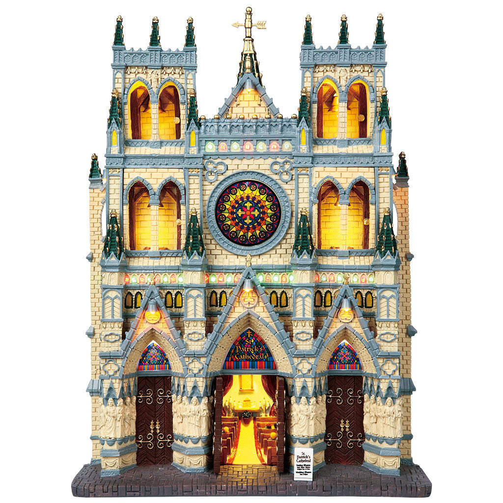 Lemax 95916 St. Patrick's Cathedral, Facade- Gift Spice