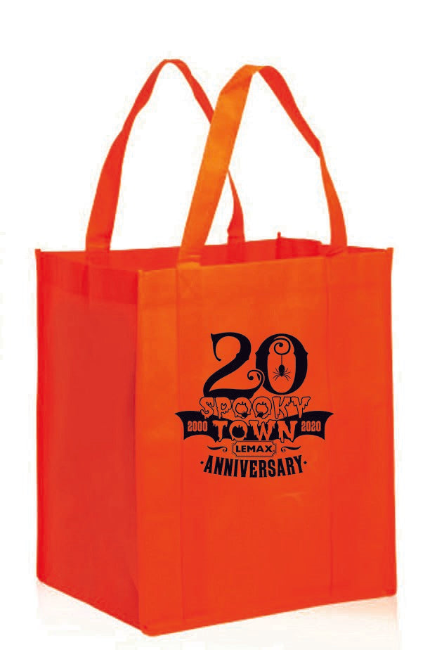 Lemax Spooky Town 20th Anniversary Grocery Bag