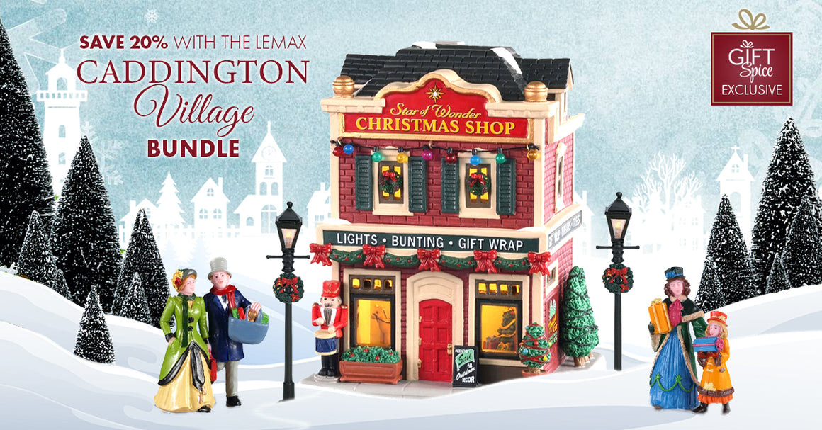 07200 Star of Wonder Christmas Shop Set