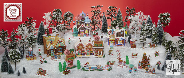 Lemax Collectible Candy Cane Lane
