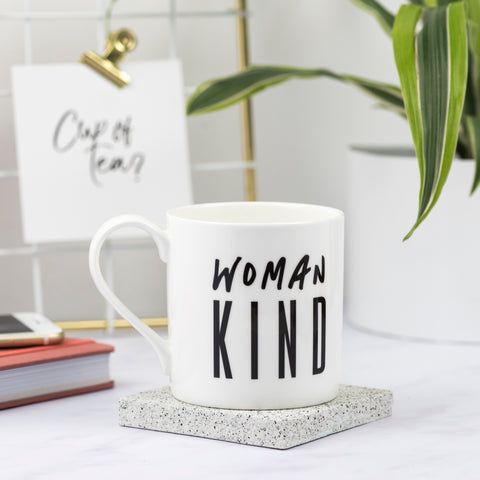 Woman Kind Bone China Mug