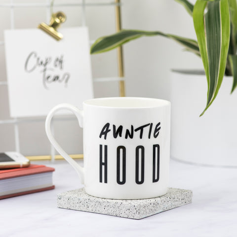 Auntie Hood Bone China Mug