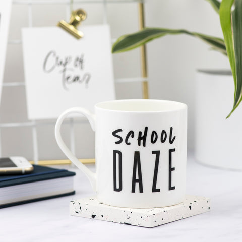 School Daze Bone China Mug