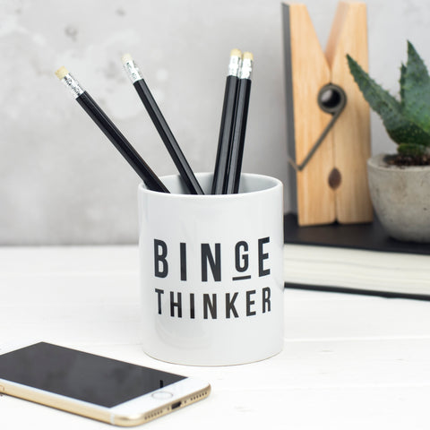 Binge Thinker Pen Pot