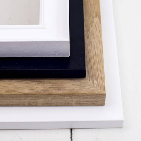 Handfinished A4 Wooden Frame In Four Styles