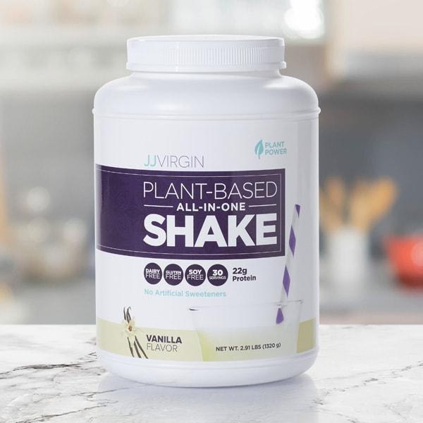 Plant-Based All-In-One Shake - Vanilla - 30 Servings