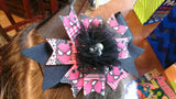 Pink Spiderman Bow