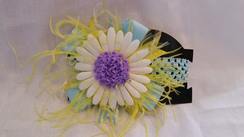 Light Blue Floral Infants Headband