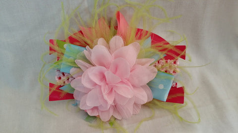 Pink and Blue Headband