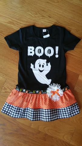 Boo Who Halloween Dress