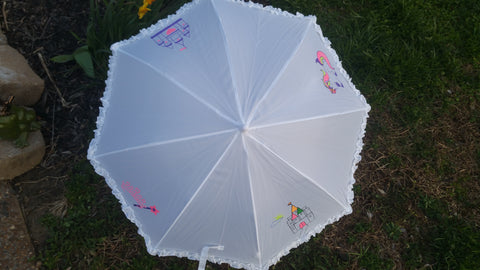 Hand painted Umbrella