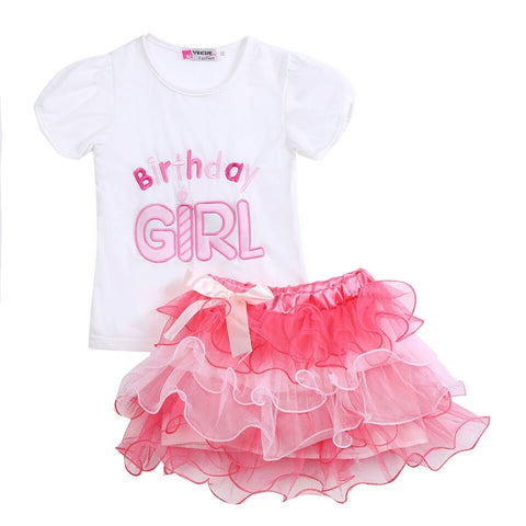 Birthday Girl Skirt Set