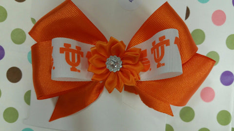 Go Vols Hair Bow