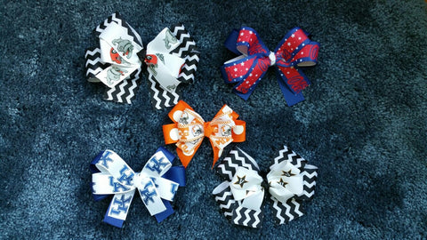 NCAA Custom Hair Bow