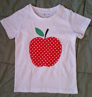 Back to School Apple T-shirt