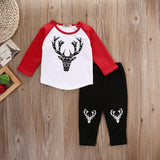 Aztec Deer Pants Set