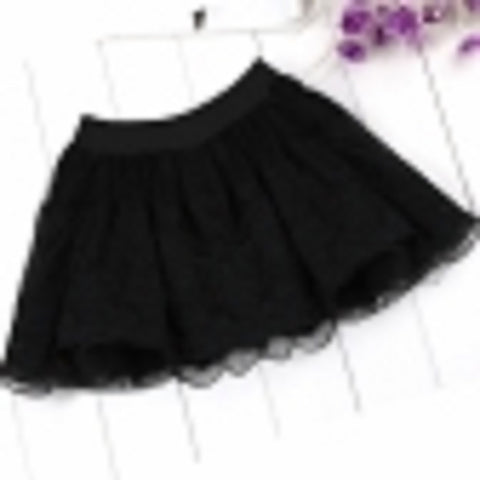 Black Lacy Skirt