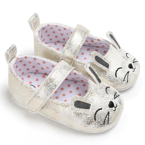 Silver Mouse/Kitten/Bunny Shoes
