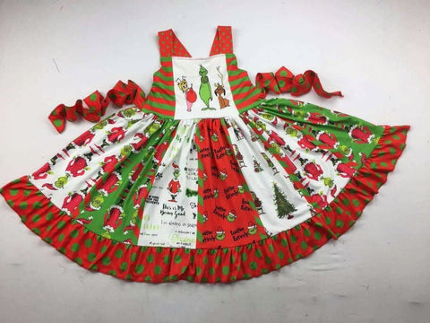 Grinch Twirl Dress/Jumper