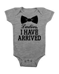 """Ladies, I have arrived"" T-shirt Onesie"