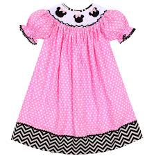 Minnie Smocked Dress
