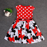 Red & Black Mouse Dress